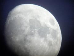 Luna al telescopio