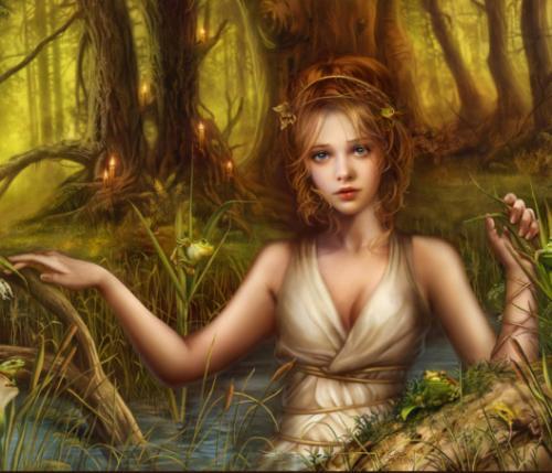 Donzella bella